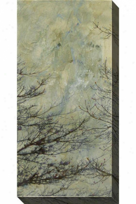 The Twilight Ii Canvas Wall Art - Ii, Gray