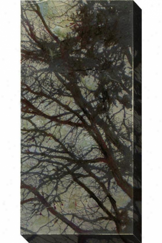 The Twilight Iv Canvas Wall Art - Iii, Gray