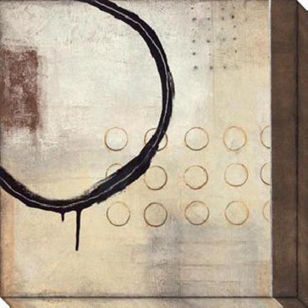 Third Dimension Ii Canvas Wall Skill - Ii, White