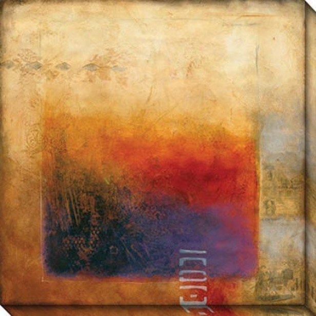 Threshold Ii Canvas Wall Art - Ii, Copper
