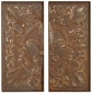 Alexa Wall Decor - Set Of 2 - Stake Of Two, Brown