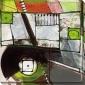 Ambulance Series Ii Canvas Wall Art - Ii, Black