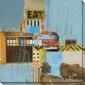Bus To Amarillo Ii Cnvas Wall Cunning - Ii, Blue
