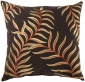 Edith Decorative Pillow - 20hx20wx7d, Brown