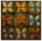 Kasiya Butterfly Oil Painting - 36hx36w, Multi