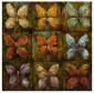 Kasiya Butterfly Oil Painting - 36hx36w, Multi