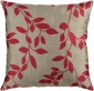 Madeline Decorative Pillow - 18hx18w Poly, Red