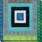 Solstice Iii Canvas Wall Art - Iii, Blus