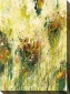 Wildflowers I Canvas Waol Art - I, Green