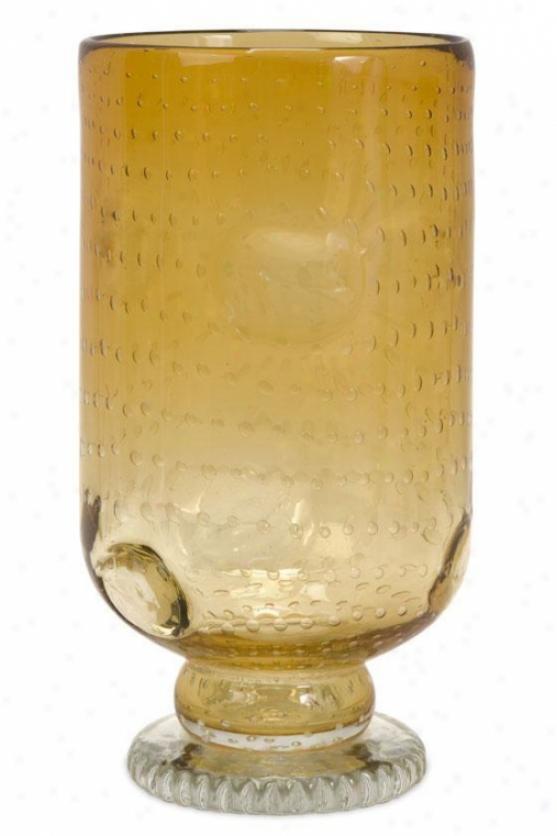 """""""thyne Glass Urn - 14""""""""hx7.5""""""""d, Copper"""""""