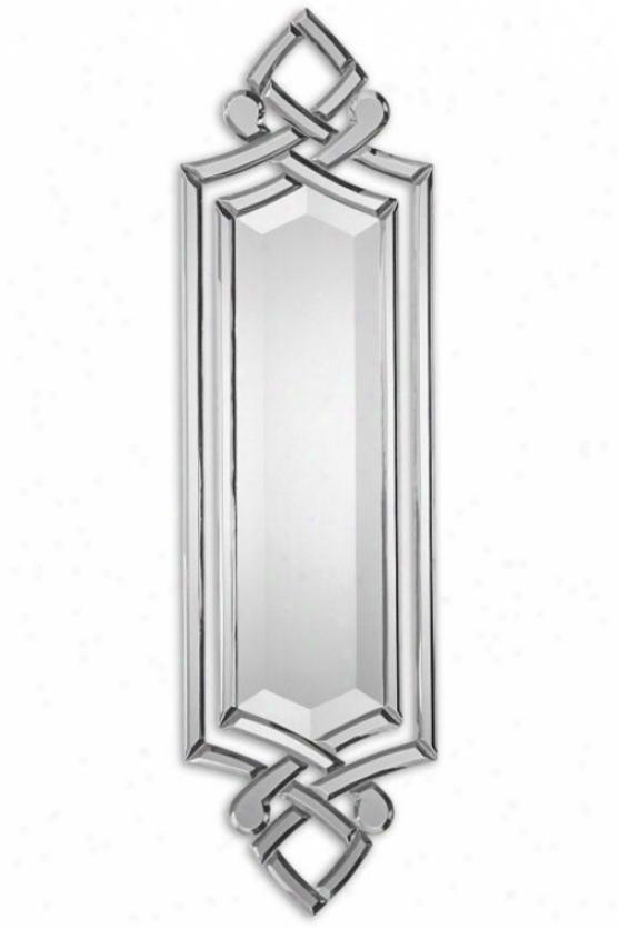 """""""toulosse Mirror - 36hx10wx1""""""""d, Silver/glass"""""""