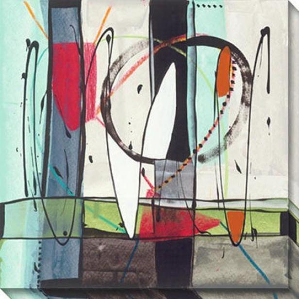 Transparence I Canvas Wall Art - I, Mlti