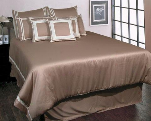 Trapeze Comforter Prescribe - Queen, White