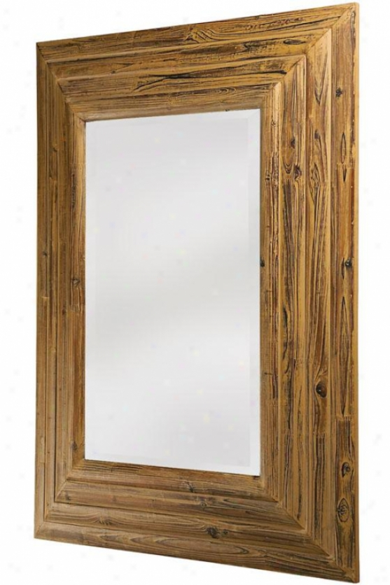 """travis Mirror - 45""""hx35""""wx2""""d, Tan"""
