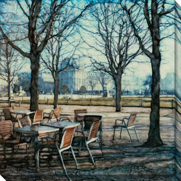 """tuileries Canvas Wall Creation of beauty - 4O""""hx40""""ww, Multi"""