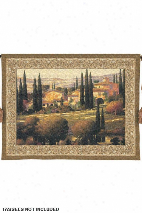 """tuscan Gold Tapestry - 40""""hx53""""w, Multi"""