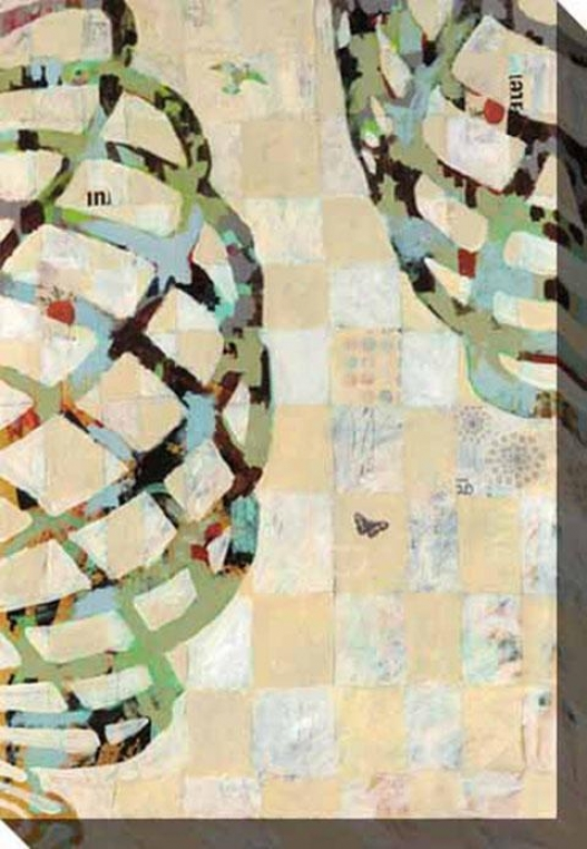 Twist Iii Canvas Wall Art - iIi, White