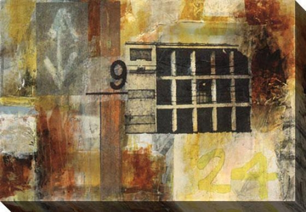 Urhane Ii Canvas Wall Art - Ii, Multi