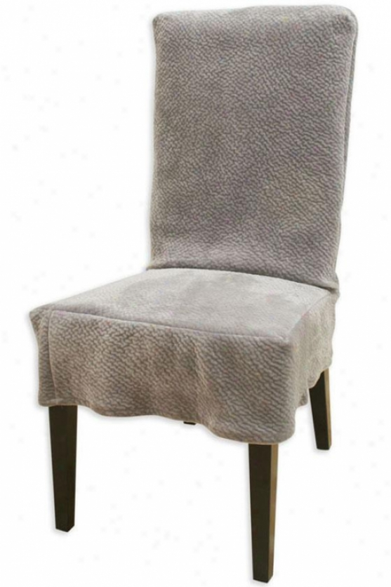 Uzbek Taupe Collection Parsons Chair Slipcover - Parson Slip Cvr, Renegade Cocoa