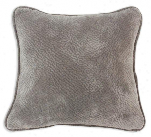 Uzbek Taupe Collection Pillows - Pil Corded 19sq, Renegade Cocoa