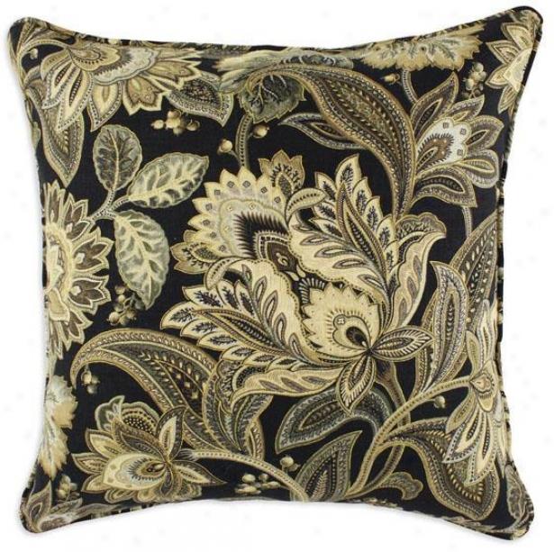 Valdosta Blackbird Collection Pillows - Pil Corded 91sq, Valdosta Bkbird