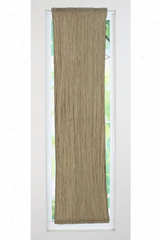 """valdosta Driftwood Collection Curtain Panels - Side Light Panel, 20x77"""", Hues Antique Goldx"""