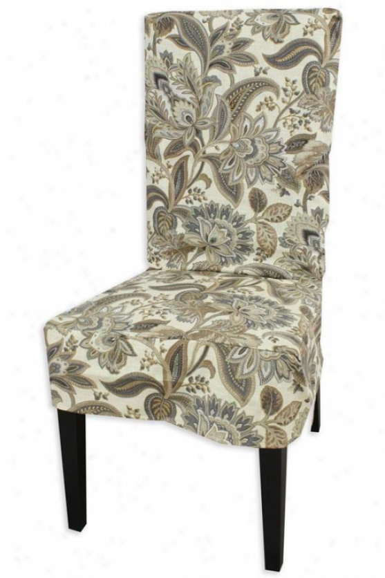 Valdosta Driftwood Collection Parsons Chair Slip Cover - Parson Slip Cvr, Valdosta Drftwd