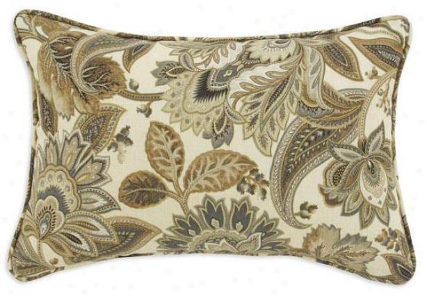 Valdosta Driftwood Collection Pillows - Pil Flange 17sq, Valdosta Drftwd