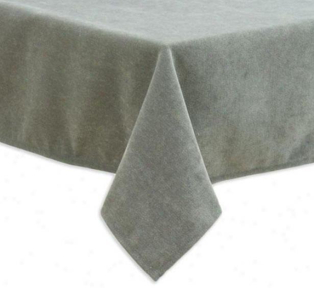 """vapdosta Driftwood Collsction Table Cloth - Tblclth 54x96"""", Adagio Pewter"""