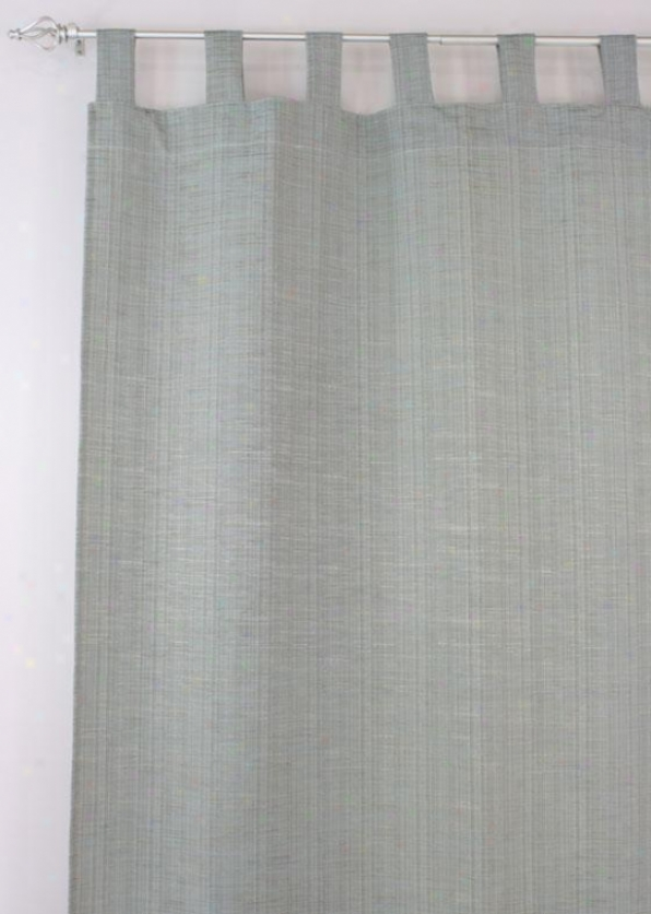 """valdosta Obscurity Collection Curtain Panels - Tab Top Lined Panel, 54x108""""x, Mystic Iii Spa"""""