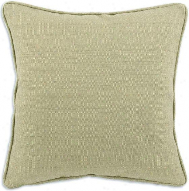 Valdosta Mist Collection Pillows - Pil Corded 19sq, Oriole Flax