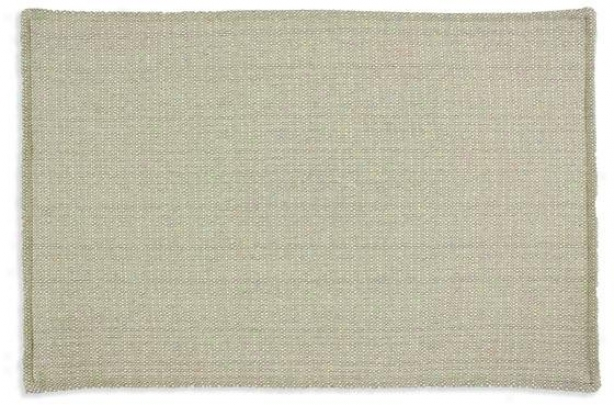 """valdosta Mist Collecttion Placemats - Lined Placemat, 12.5 X 19"""", Oriole Flax"""