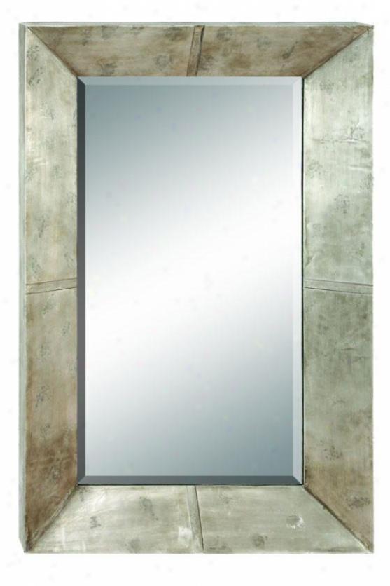 """""""vega Mirror - 45""""""""hx28""""""""w, Silver"""""""
