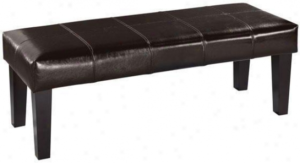 Venezia Leather Bench - Benches From Home Decorators Collection
