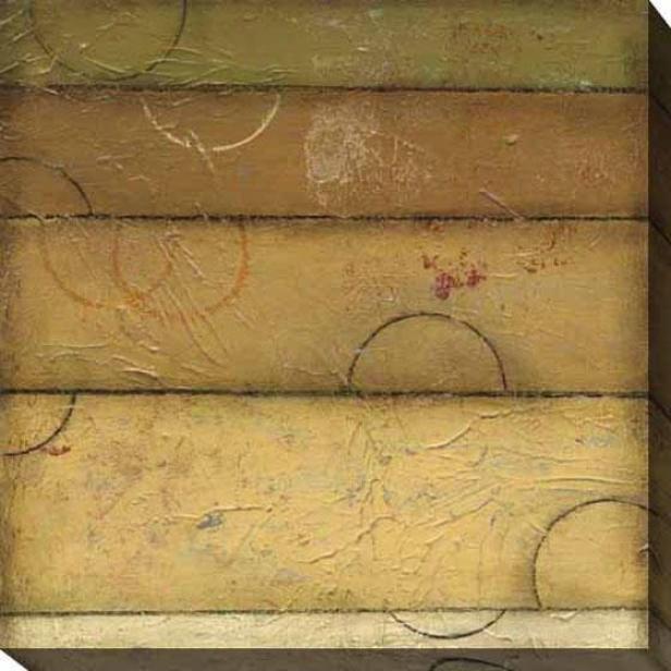 Verdant Spectrum I Canvas Wall Art - I, Beige