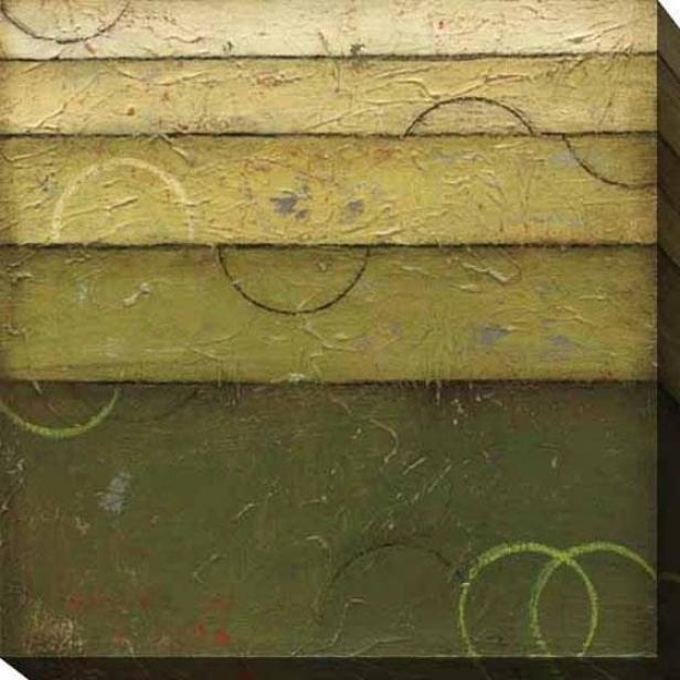 Verdant Spectrum Ii Canvas Wall Art - Ii, Green