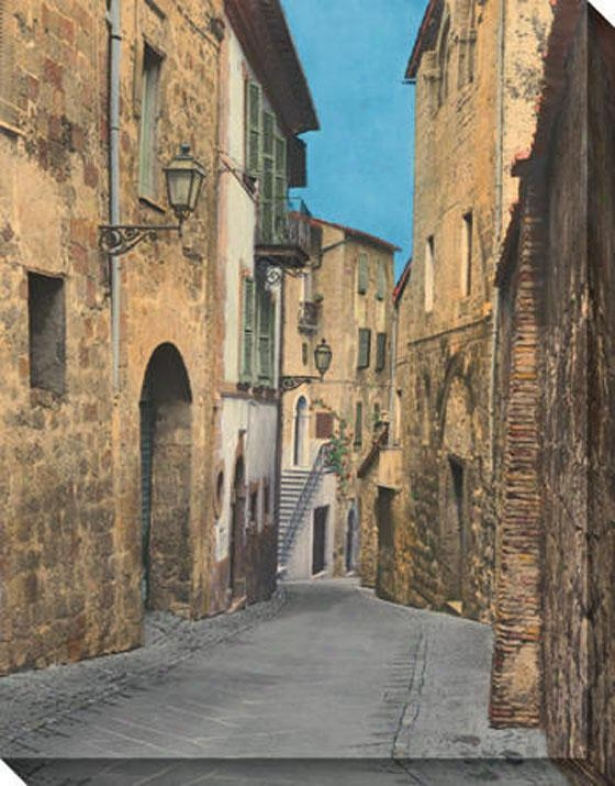 """via Todi Canvas Wall Art - 36""""hx46""""e, Beige"""