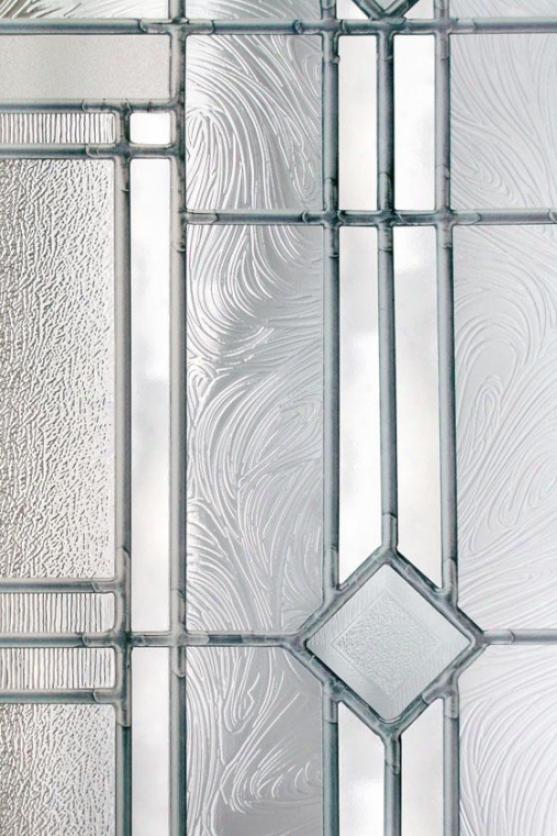 """""""vienna Stained Glass Window Film - 36h X 24""""""""w, Cleae"""""""