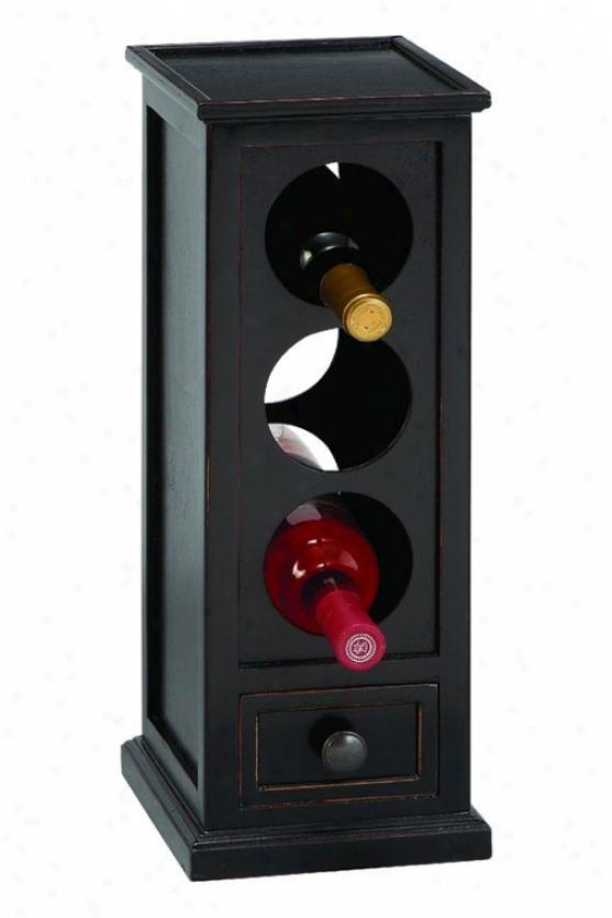"""""""vino Wine Rack - 18""""""""hx7""""""""w, Brown"""""""