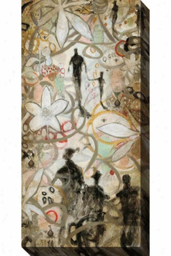 Walk Ii Canvas Wall Art - Ii, Multi