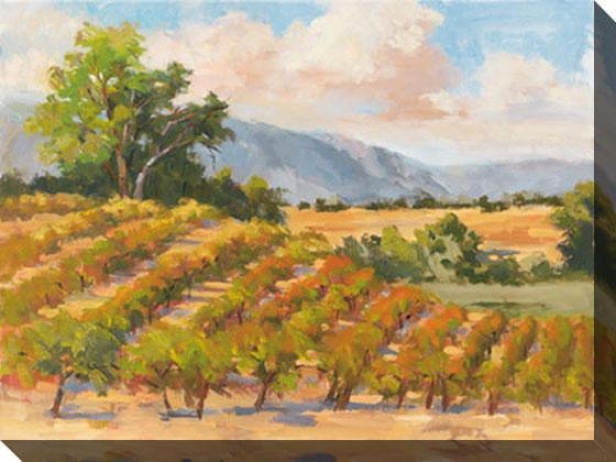 Wine Province I Canvas Wall Art - I, Gold