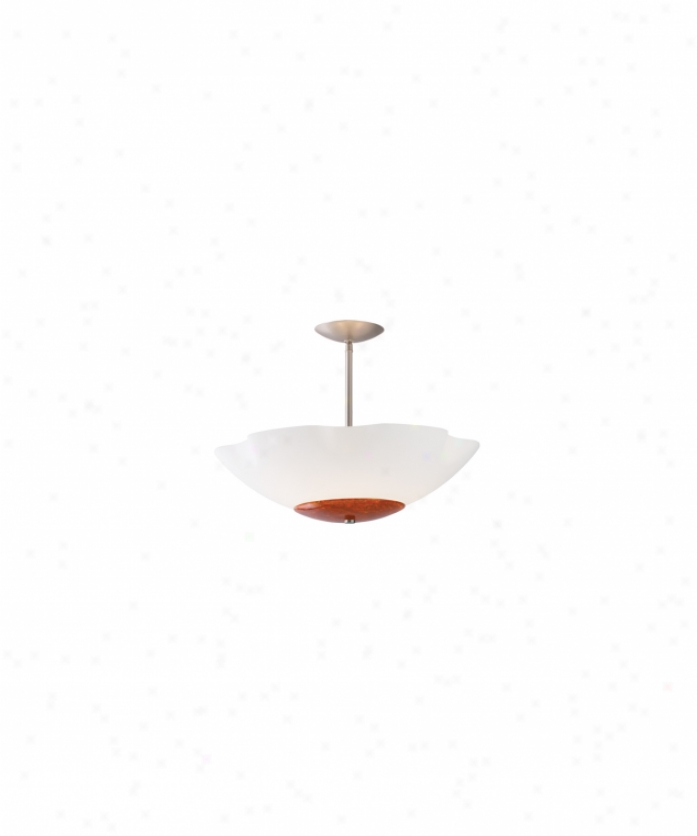 2 Thousand Degrees 700tdbol2424waz Bolinas 4 Light Ceiling Pendant In Antique Bronze With Fluted Frost White Bowl Glass