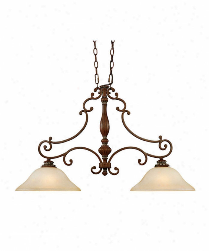 Capital Lighting 3397ec Westwood 2 Light Isalnd Light In English Chestnut In the opinion of Mist Scavo Glasscrystal Set Sold Separately Crystal