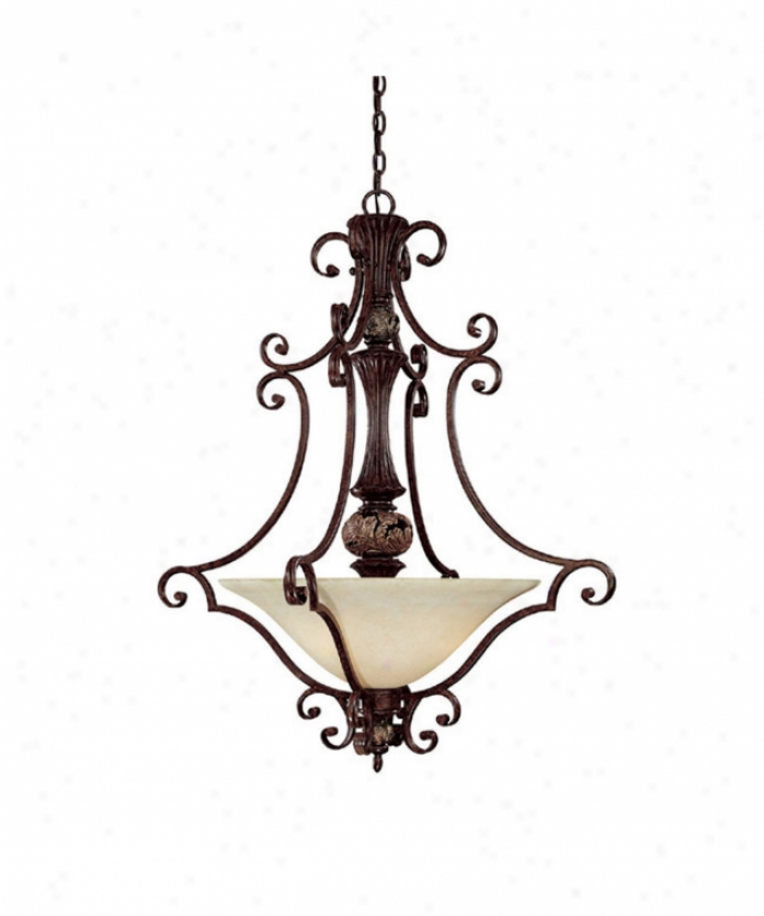 Capital Lighting 3514cb Manchester 3 Light Ceiling Pendant In Chesterfield Brown With Crystal Set Sold Separately Crystal