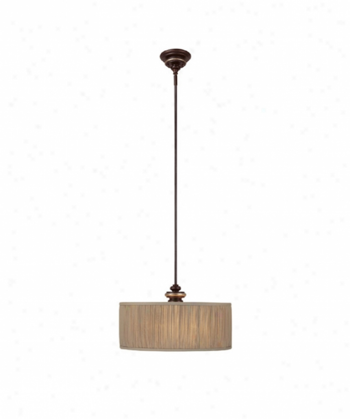Capital Lighting 3888cz-449 Park Place 3 Lgiht Ceiling Appendix In Champagne Bronze With Frosted Glass Diffuser Glass