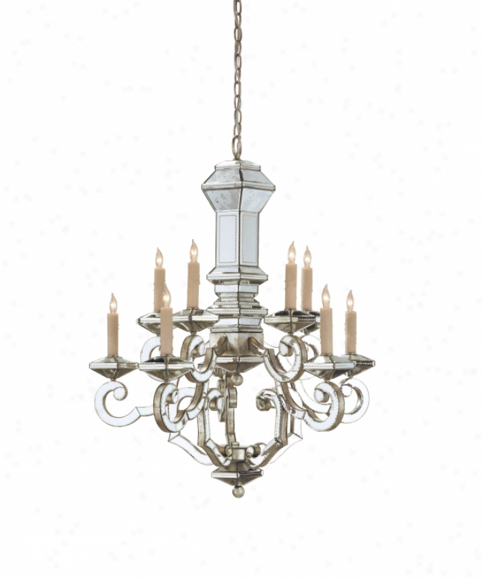 Currey And Company Stratosphere: Currey And Company 9219 Domani 10 Light Single Tier