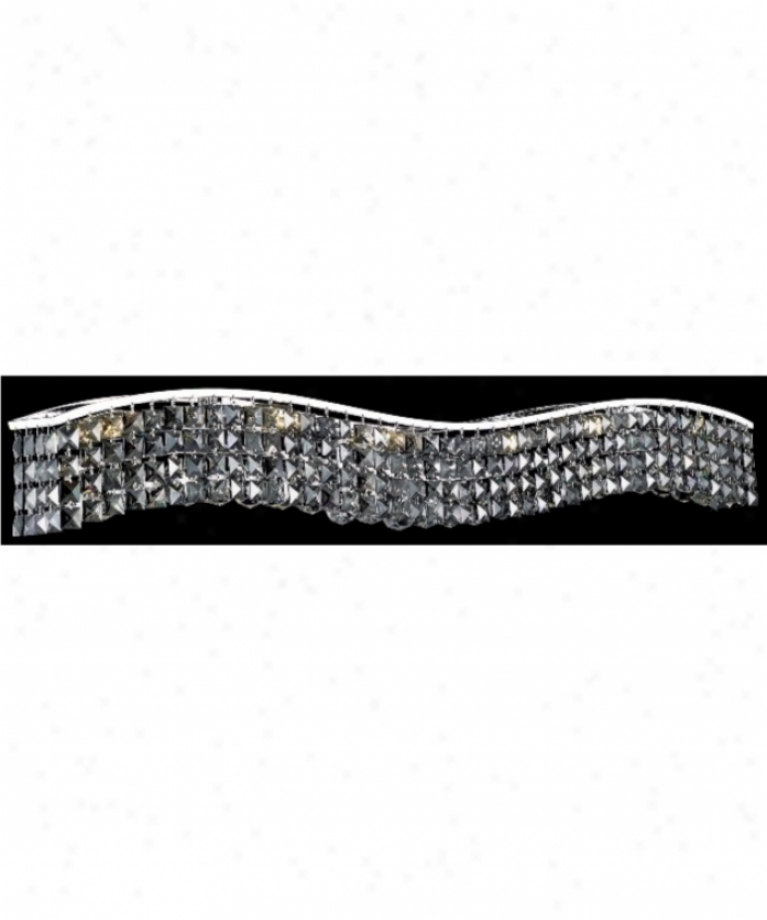 Elegant Lighting 2041w44c-ss-rc Contour 10 Light Ceiling Pendant In Chrome Attending Silver Shade (grey) Royal Cut Crystal