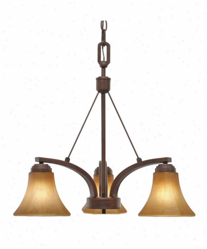 Golden Lighting 7158-nd3rbz Accurian 3 Light Single Tier Chandelier In Rubbed Bronze By the side of Chiseled Antique Marble Glass