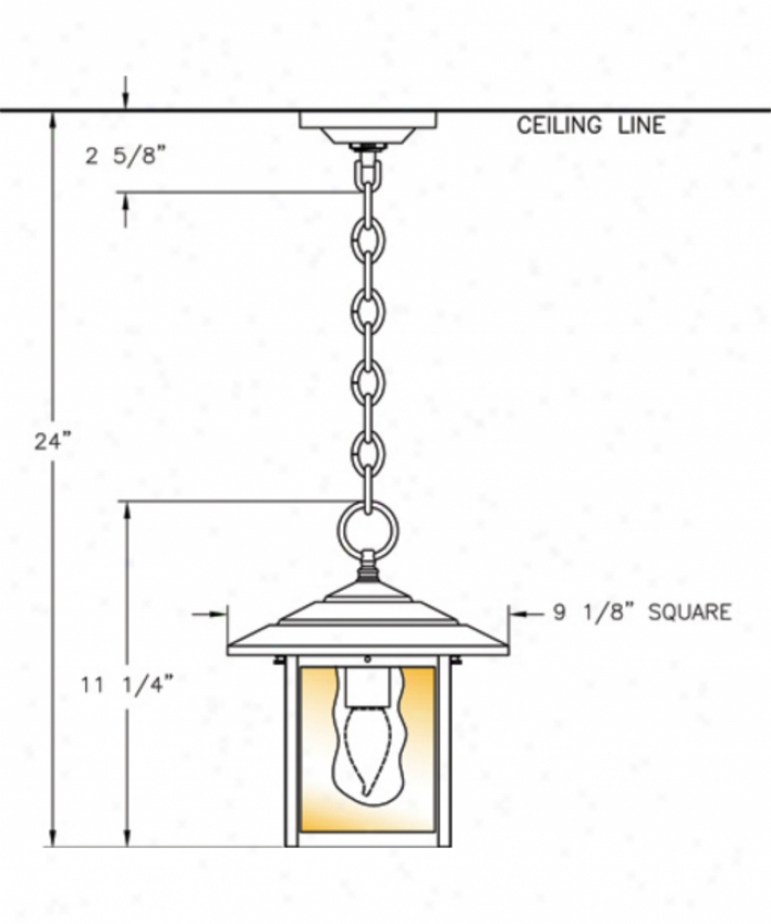 Hanover Lantern B28320abshd Indian Wells Medium 1 Light Outdoor Hanging Lantern In Antique Brass With Opalsecent Honey Glass