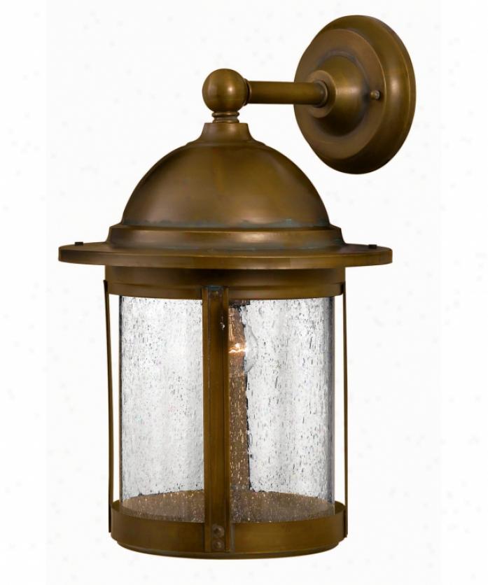 Hanover Lantern B4118dbz Manor Medium 3 Light Outdoor Wall